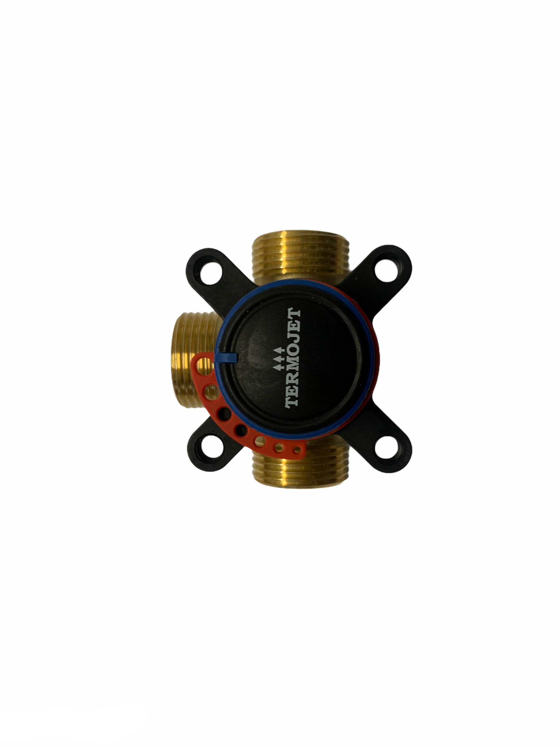 3-way valve with external thread 1 1/2''