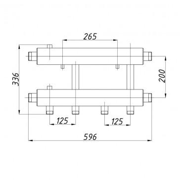 Коллектор К22Н.125 (200)