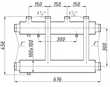Коллектор К22В.150 (300)
