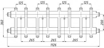 Коллектор К82ВН.125 (200)