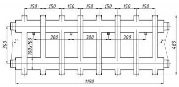 Коллектор К82ВН.150 (300)