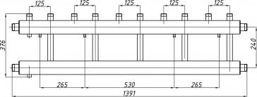 Коллектор К52В.125 (240)