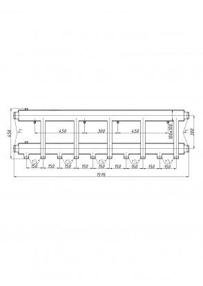 Коллектор К52Н.150 (300)