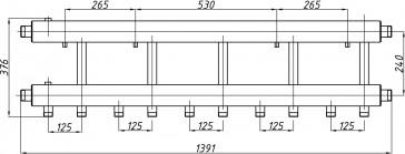 Коллектор К42Н.125 (240)