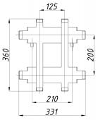 Коллектор К22ВН.125 (200)
