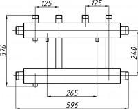 Коллектор К22В.125 (240)