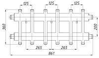 Коллектор К62ВН.125 (200)