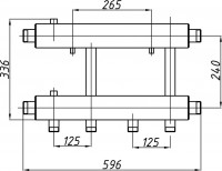 Коллектор К22Н.125 (240)